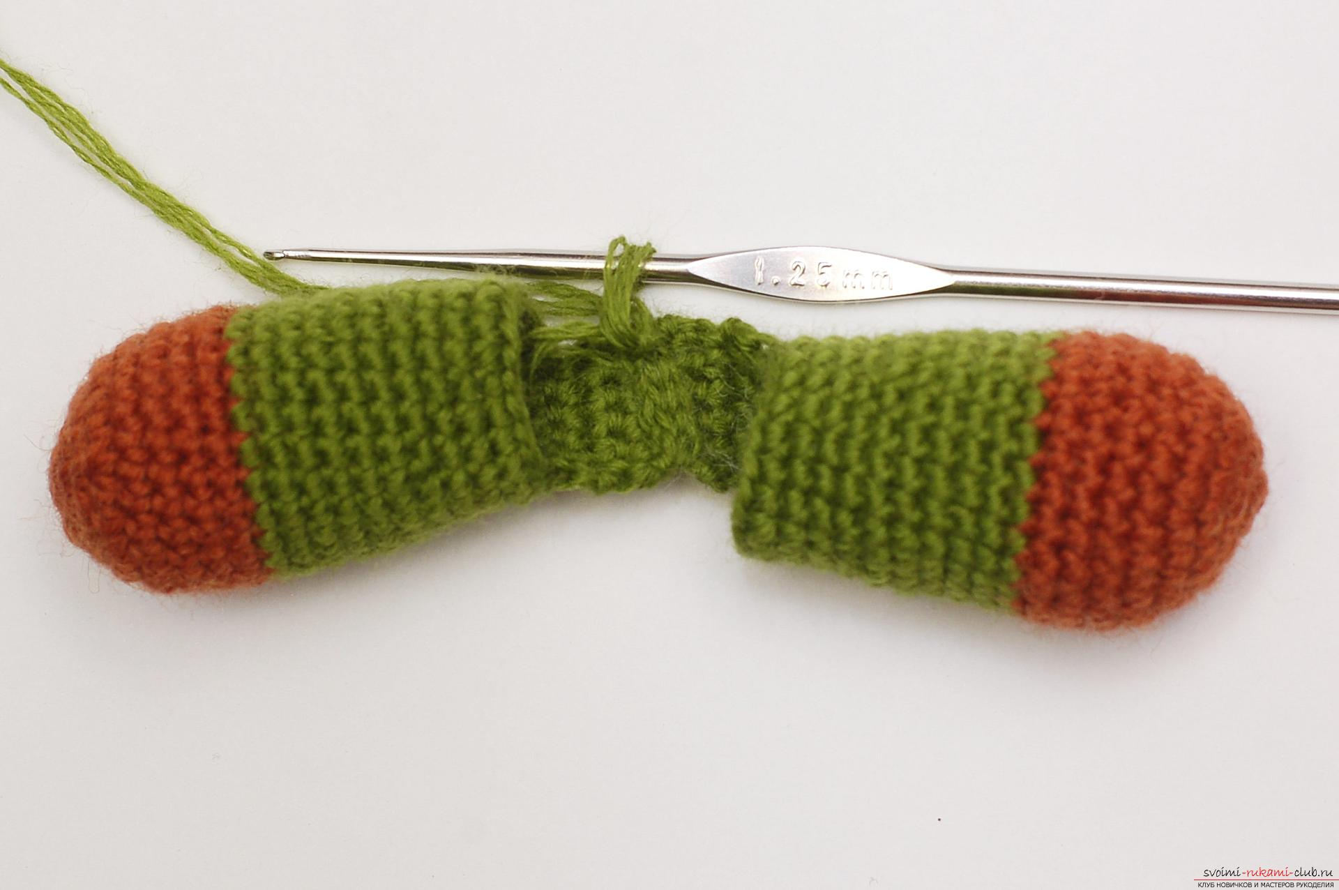 In this master class you will learn how to tie a crochet bean as a gift to the Pope on February 23. Photo # 21