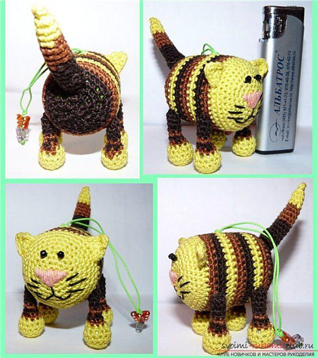 How to tie a crochet in the amigurumi technique with his own hands with a photo and description ?. Photo №4