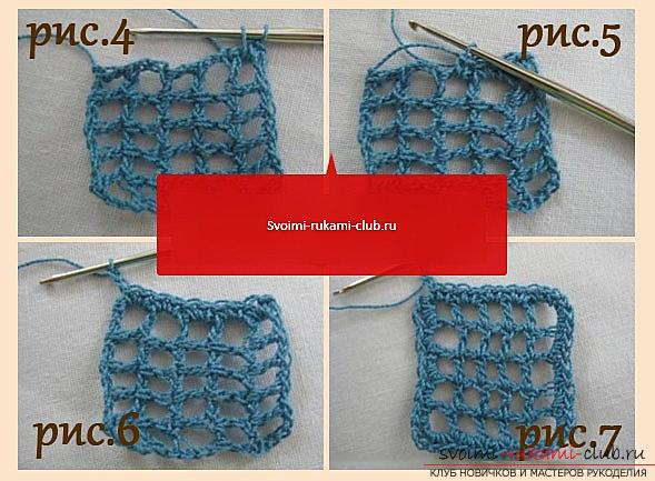 Openwork pattern for a scarf crocheted - a diagram and a description of an openwork pattern with their own hands. Photo # 2