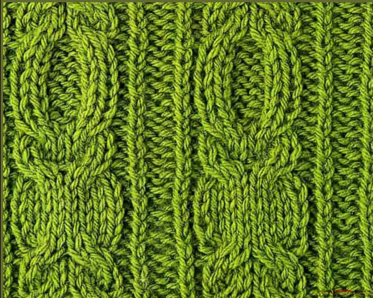 knitted patterns of braid. Picture №3