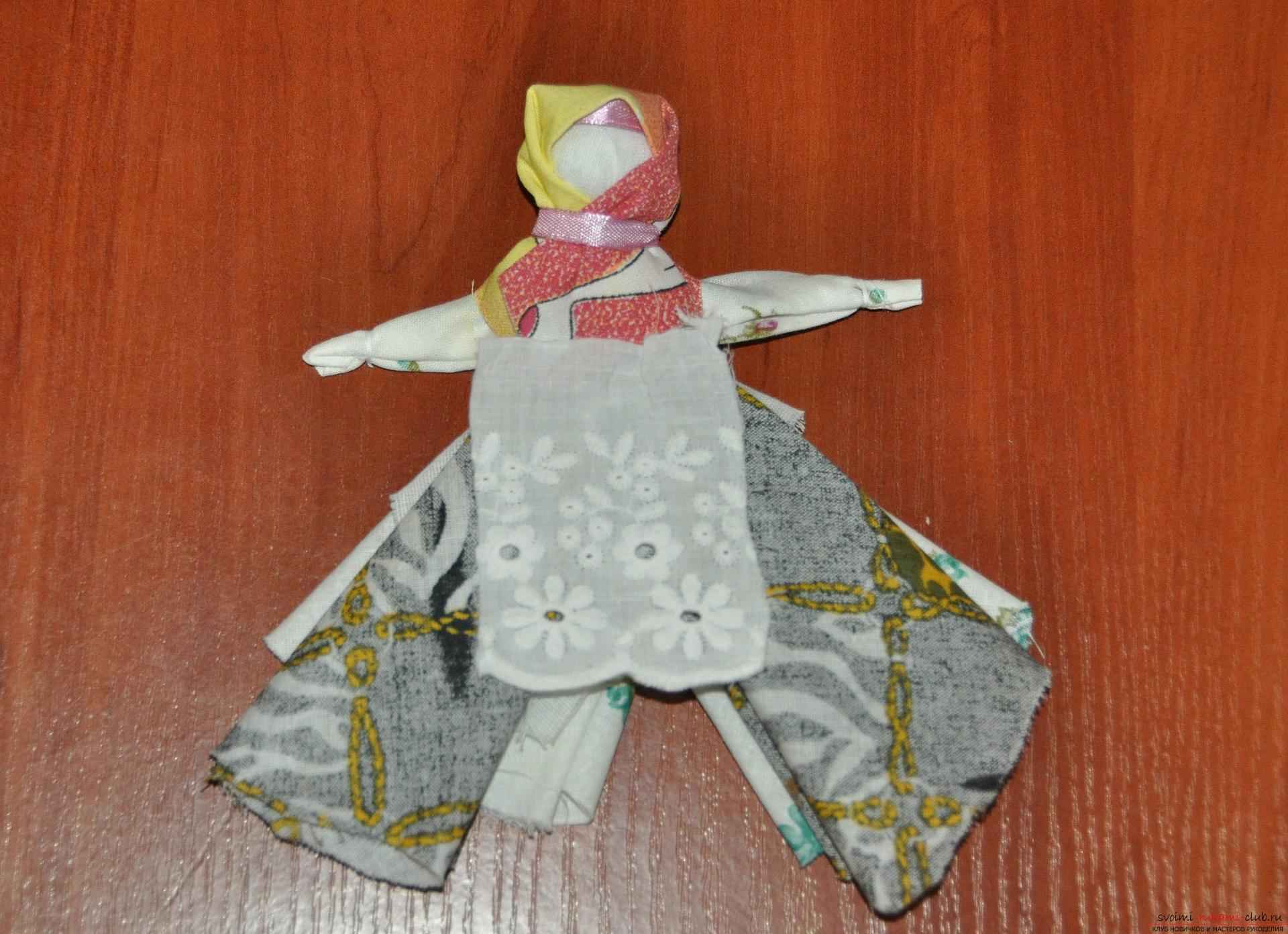 This master class will teach you how to make your own doll-bereginya - a pillar. Photo # 23