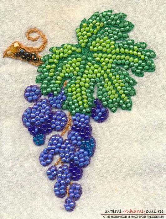 Learn how to embroider beads quickly and easily. Photo №6