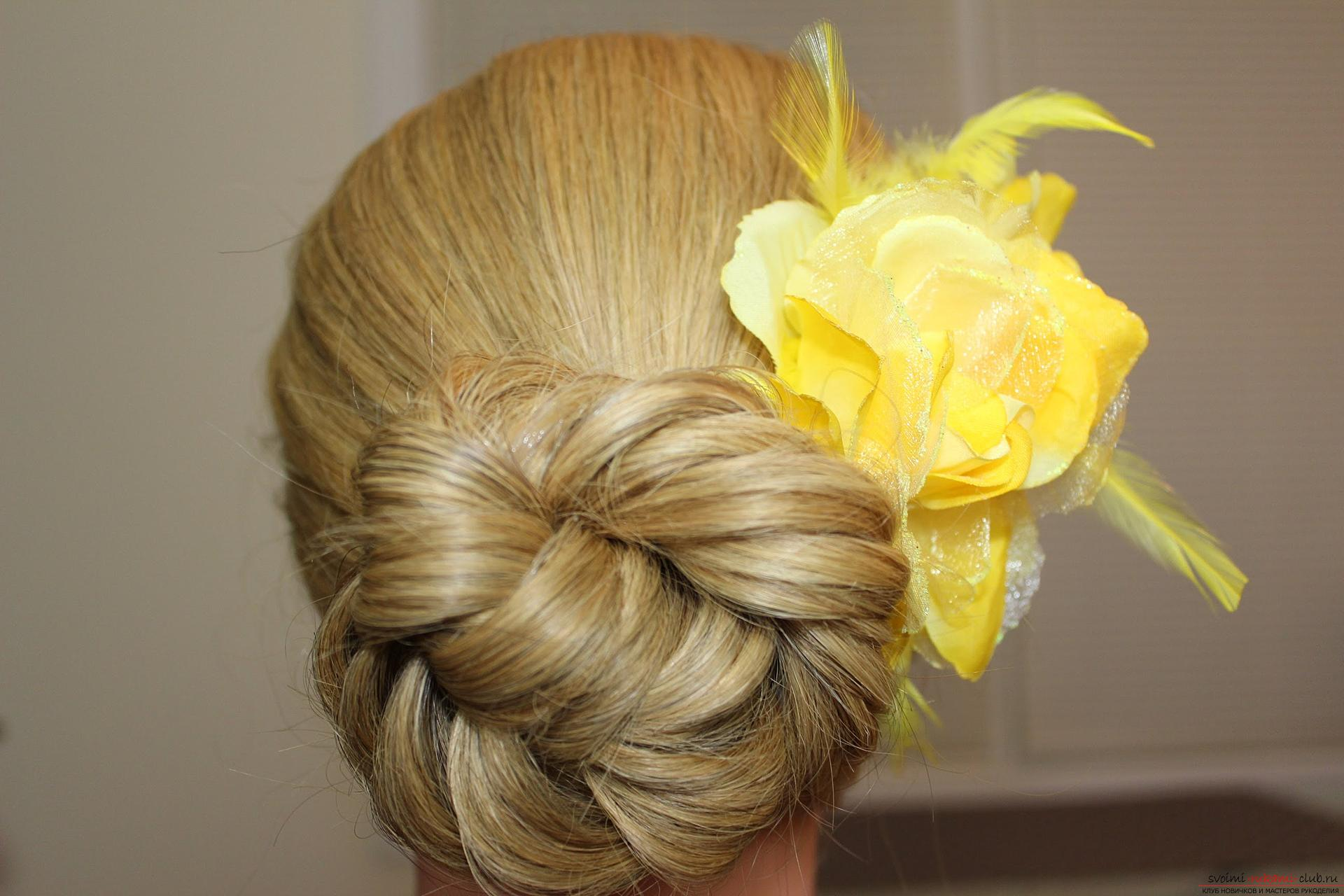 Easy beautiful hairstyles for school. Photo №5