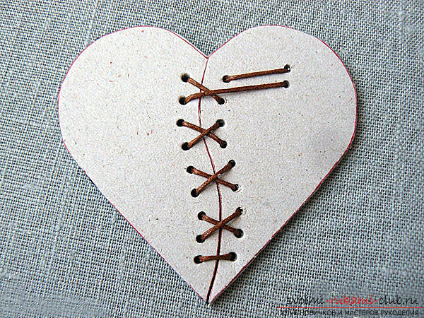 Gifts for Valentine's Day with their own hands, various variations of making valentines with their own hands, a magnet in the form of a heart as a gift to your beloved .. Photo # 20