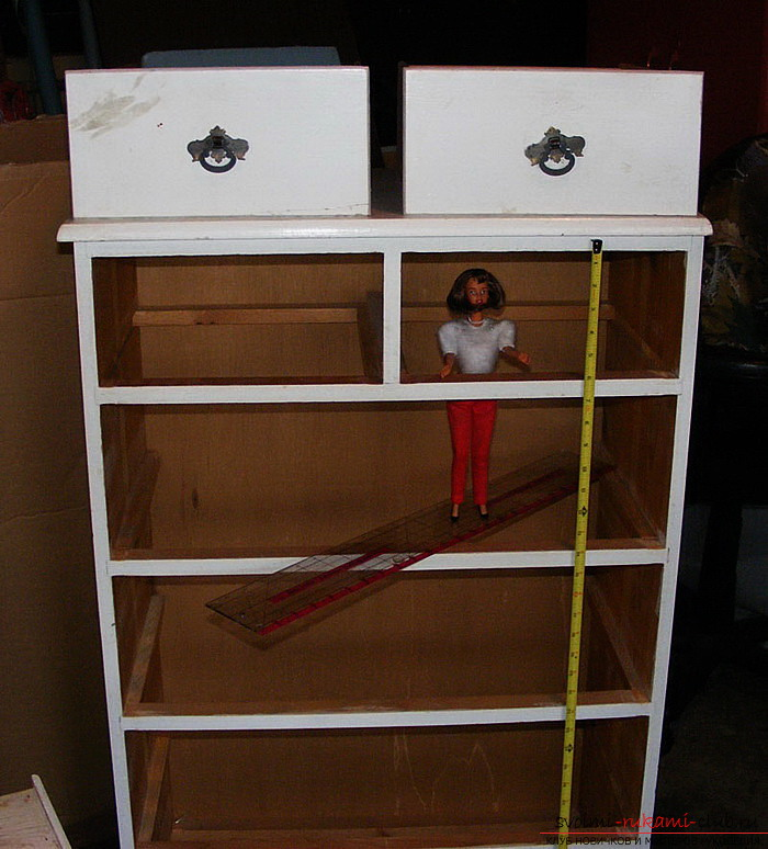 Doll house with their own hands easily and quickly. Picture №3