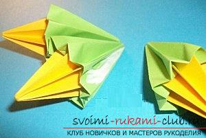 Free master classes on creating modular origami balls, step-by-step photos and description .. Photo # 38