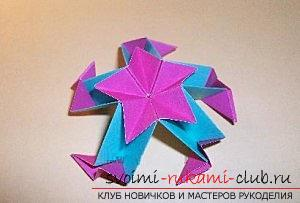 Free master classes to create modular origami balls, step-by-step photos and description .. Photo №62