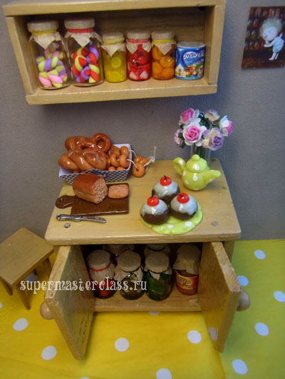 Food for dolls: photo