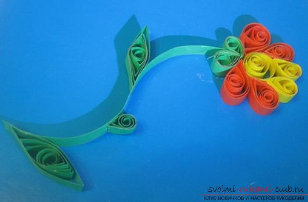 Quilling technique for beginners, basics of quilling, rules and advice for beginners, description of basic schemes, tools required for work, tips, recommendations and photos .. Photo # 27