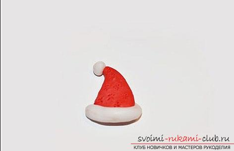 We make the Christmas tree toy on the magnet with our own hands - the technique of sculpting from polymer clay. Photo # 2