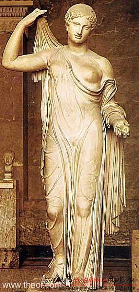 Гръцка скулптура и ролята й в архитектурата: древна Гърция и най-добрите произведения. Снимка №3