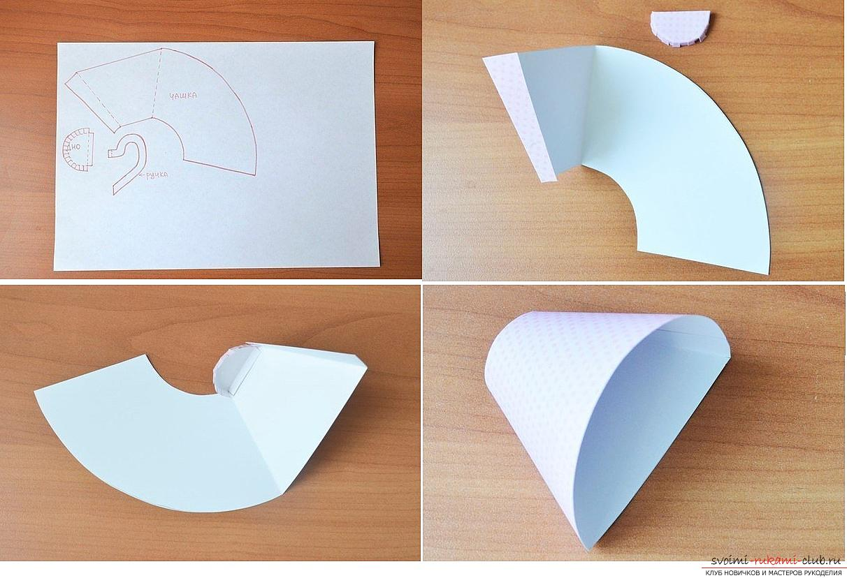 How to make your own hands beautiful and original crafts using kiwing techniques and others, step-by-step photos and instructions for creating paper crafts. Photo №5