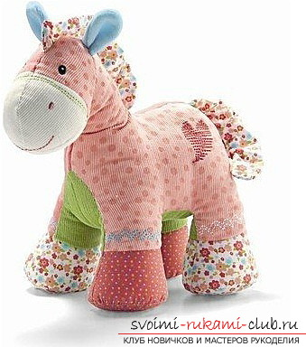 How to sew a soft toy to a horse. Photo №1