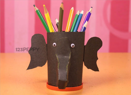 elephant-pencil-holder