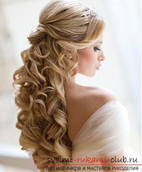 A lot of wedding hairstyles for 2016 with their own hands. Photo №26