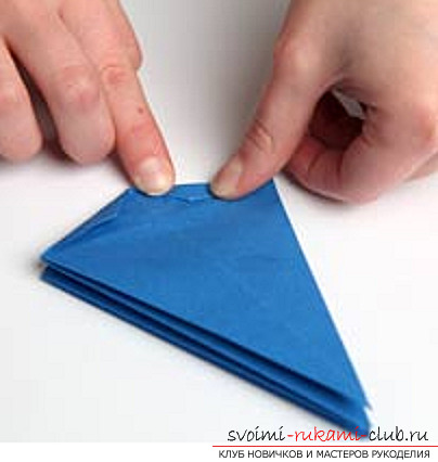 Blue dragon origami. Photo Number 14
