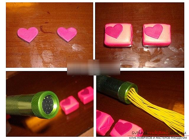 How to make a love is a love from polymer clay - a lesson and modeling. Photo №4