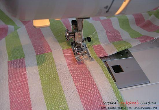 Master class on sewing an apron. Photo # 24