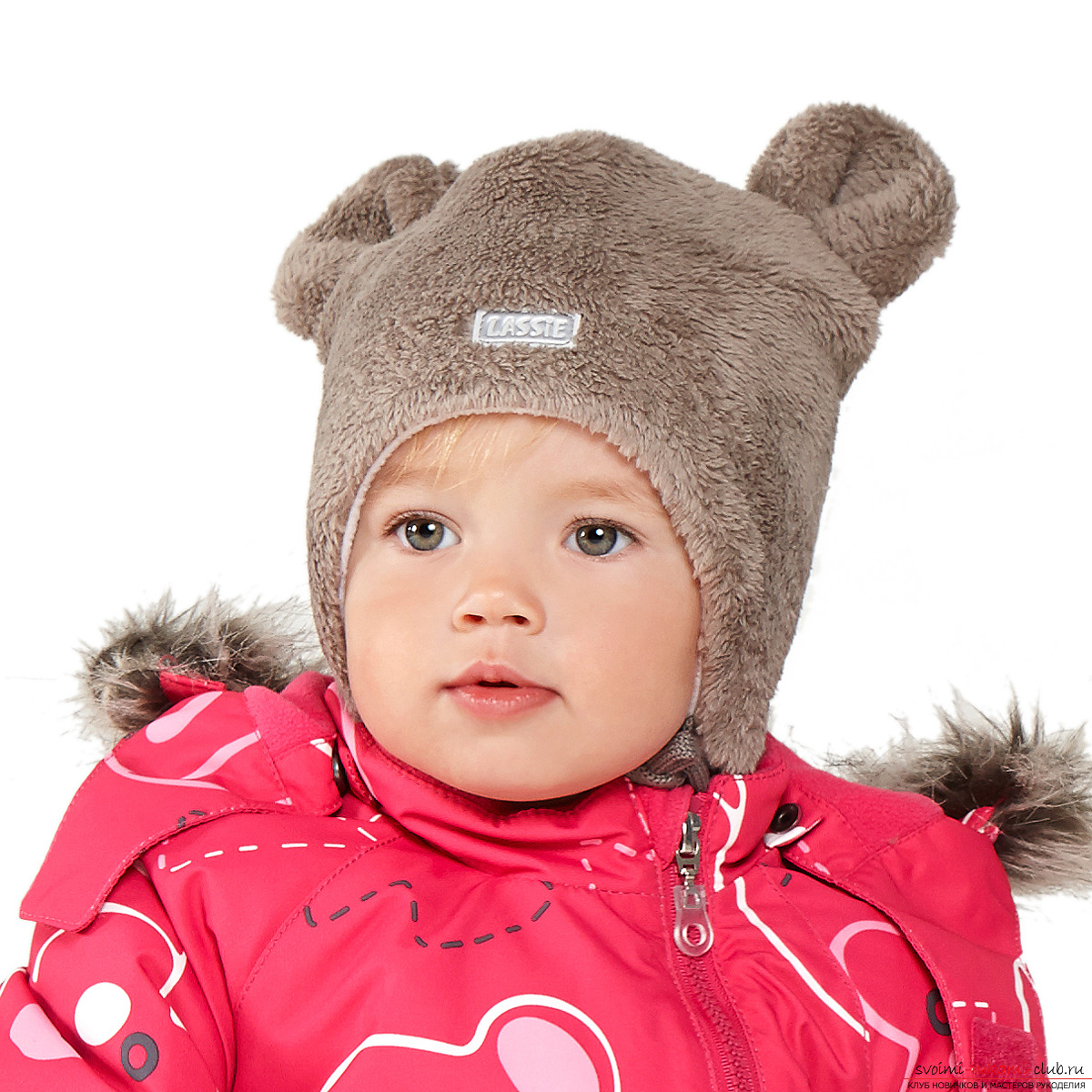 Winter hat with ears: instruction. Photo # 2