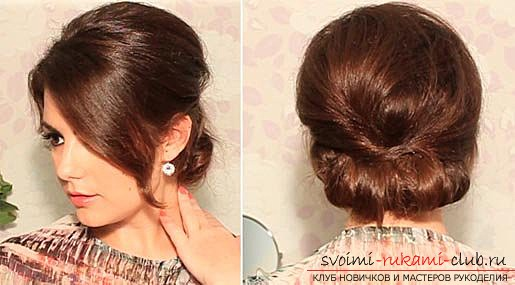 Beautiful and feminine casual hairstyles with their own hands with a photo and a description of their performance step by step .. Picture №8