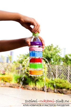 How to make crafts from plastic bottles ?. Photo №1