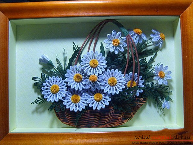 Chamomile with their own hands. Picture №3