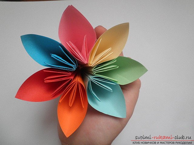 Kusudama for beginners. Picture №10
