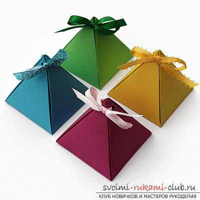 Make your origami box. Photo to create beautiful origami-boxes .. Photo # 2