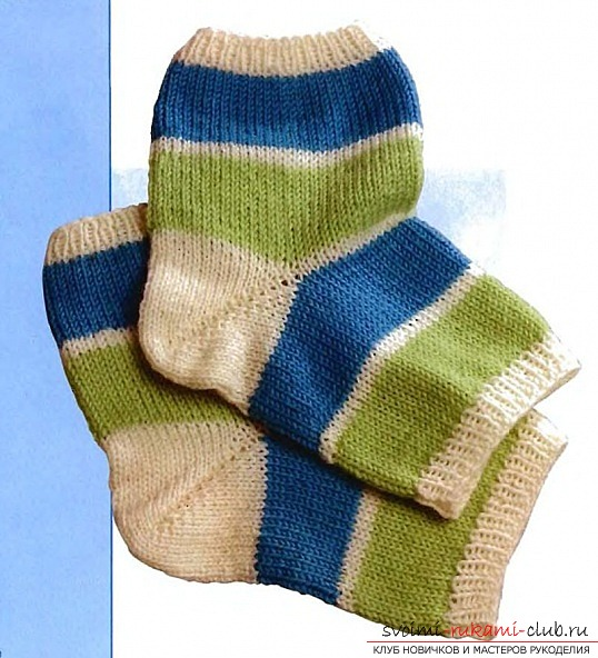 toe-asterisk of a knitted sock. Picture №3
