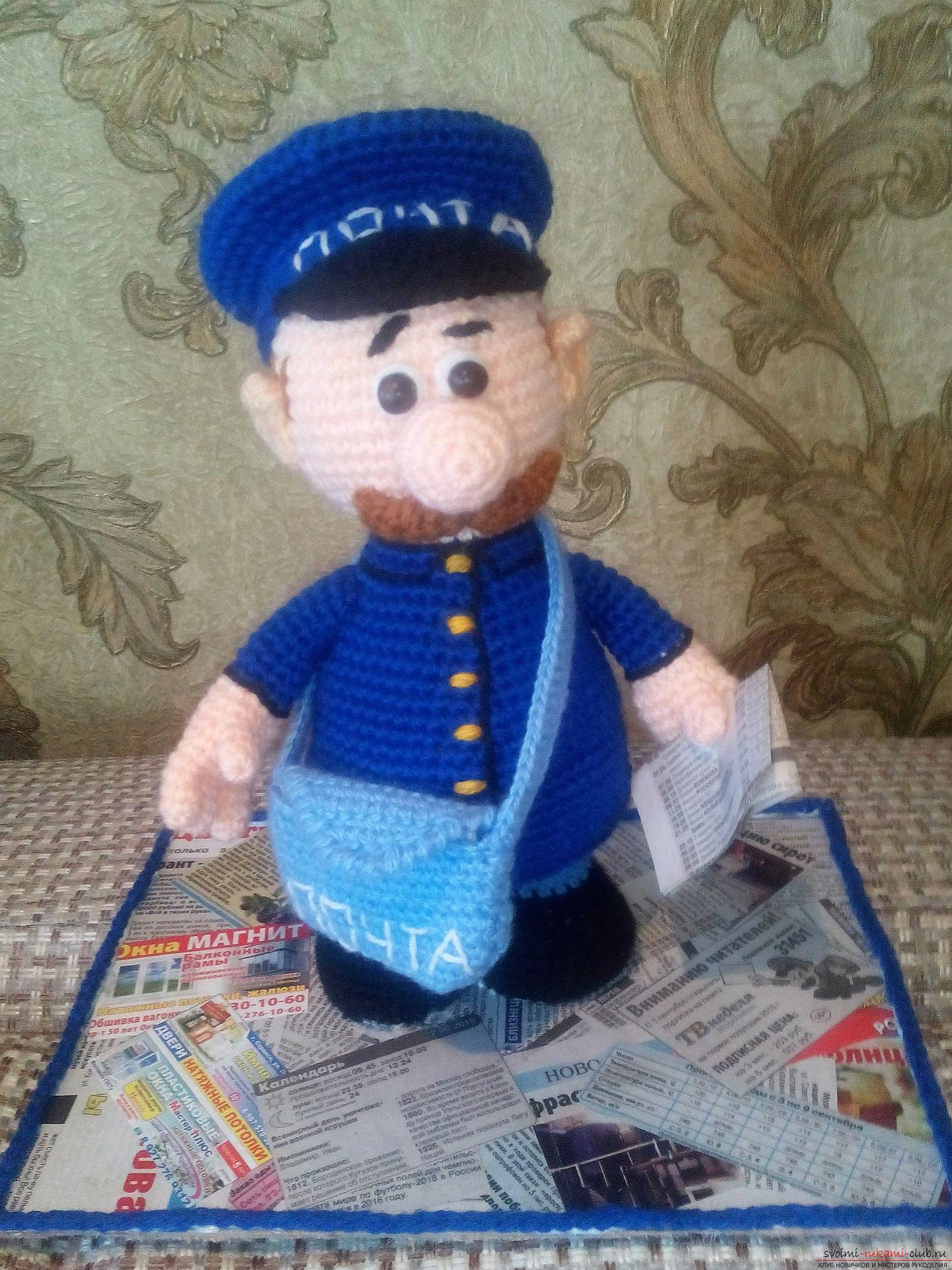 The postman crocheted. Photo №1