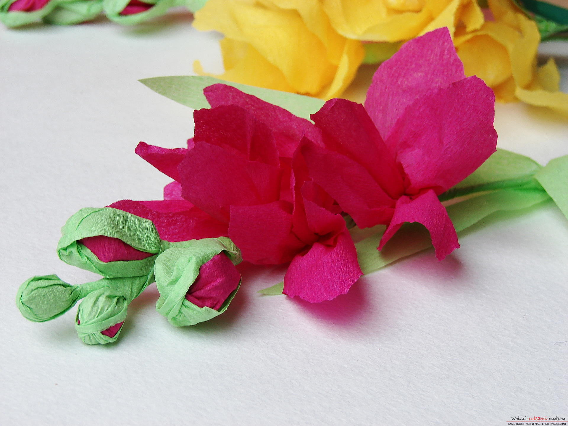 This master class will teach you how to make gladioli flowers from paper by yourself. Photo # 33