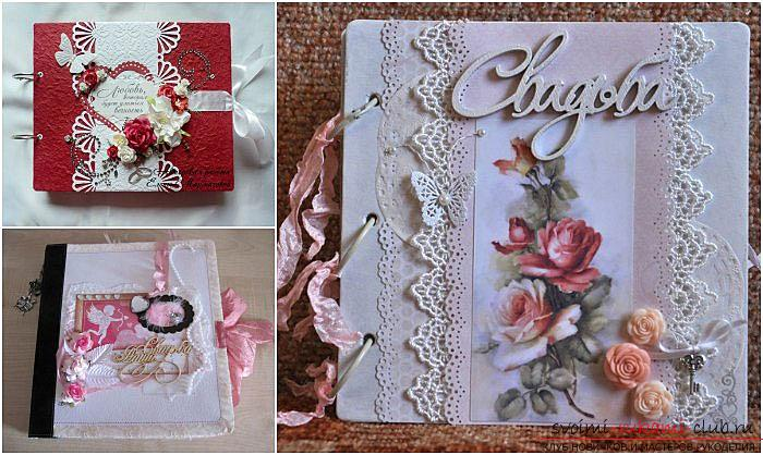 Wedding scrapbooking - ideas and realization of the album - master class. Picture №3