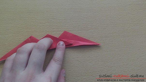 This detailed master class contains an origami-dragon scheme made of paper, which you can make by yourself. Photo # 33