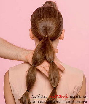 We learn to make a hairdo for the wedding with our own hands. Photo №34