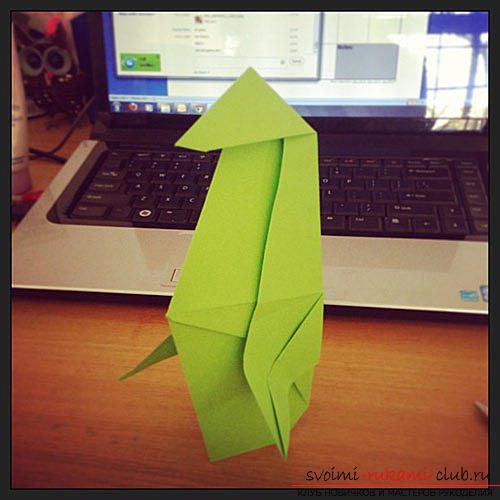 Origami penguin. Picture №3