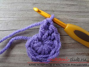 We knit crochet in a circle: tips for beginners. Photo №5