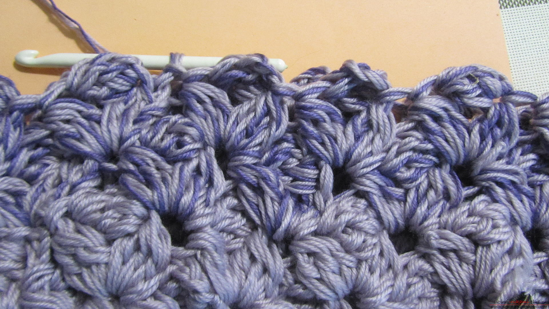 This detailed master-class with a photo contains crochet snatch crochet patterns. Picture №25