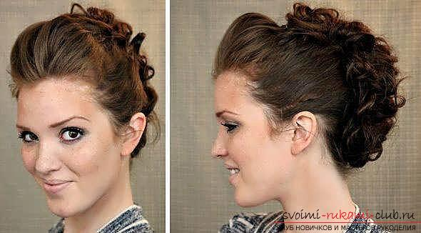 We learn to make fast and beautiful hairstyles with our own hands with a photo. Picture №10