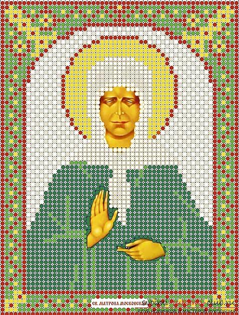 We sew cross-stitch icons of the Savior and Saint Blessed Matron for beginners. Photo №13
