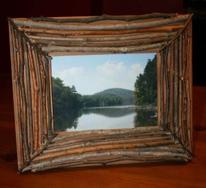 photo frame by hand made of cardboard (12)