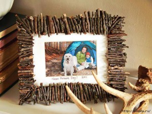 photo frame by hand made of cardboard (14)
