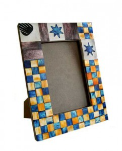 photo frame by hand made of cardboard (19)