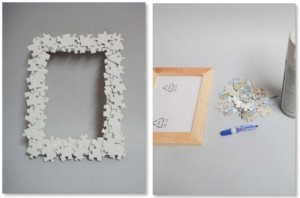 photo frame by hand made of cardboard (8)
