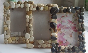 photo frame by hand made of cardboard (9)