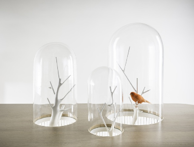 Table decorative bird cage