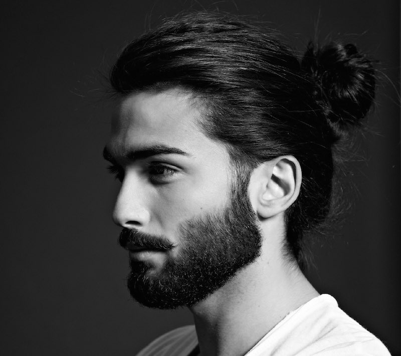 Councils and recommendations, fashion trends in hairstyles for men with long hair .. Photo # 1