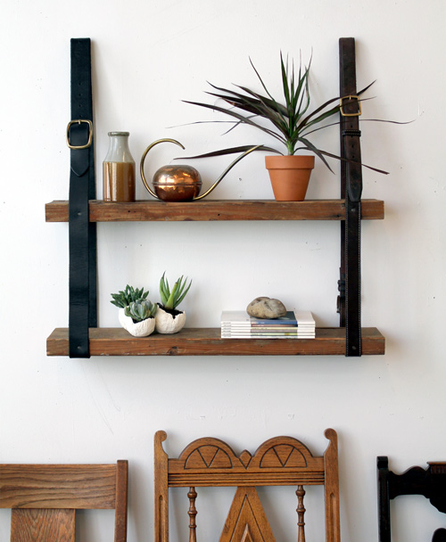 hanging shelf with own hands