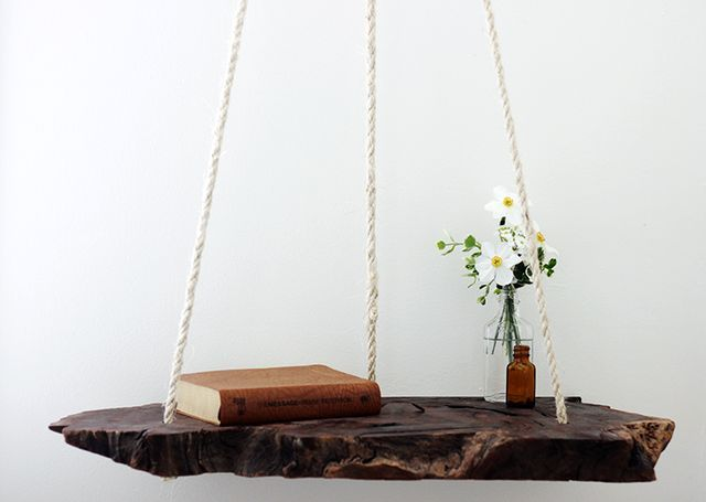 Hanging table with own hands
