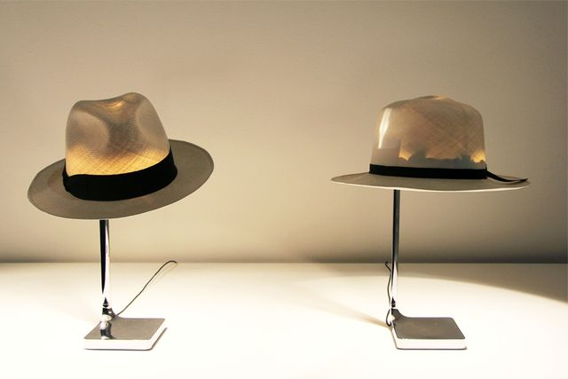 lamps from hats own hands