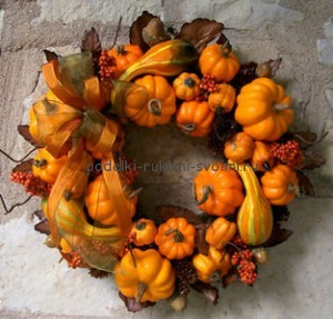 crafts from pumpkins decor of halloween